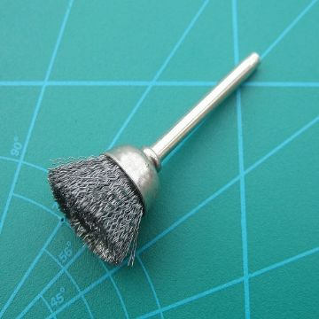 3 Axial Brush Carbon Steel
